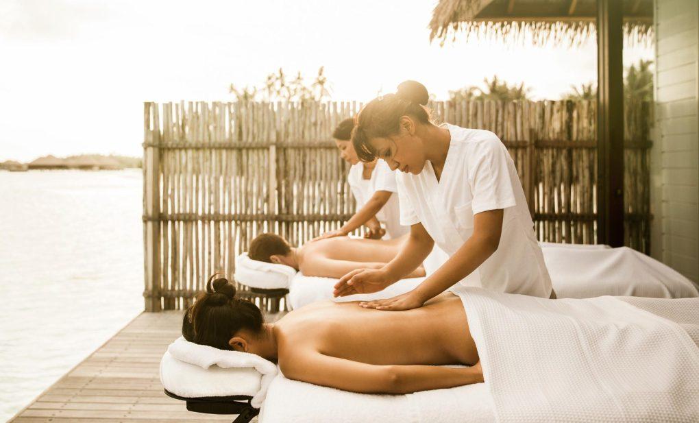 Massage en couple
