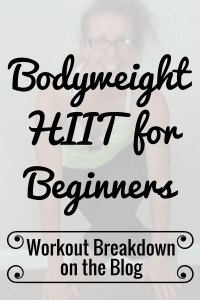 BODYWEIGHT HIIT for BEGINNERS 15 Minute No Repeat CARDIO + STRENGTH Workout Workout Breakdown - Pahla B Fitness