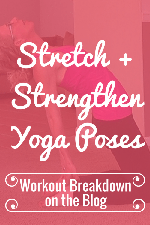 STRETCH + STRENGTHEN Flow Style Yoga Poses for BEGINNERS Workout Breakdown from Pahla B Fitness