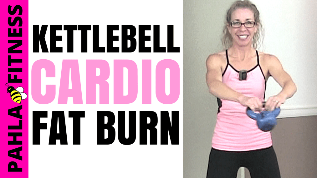 Quick KETTLEBELL CARDIO _ 20 Minute LOW IMPACT Fat Loss + Body Shaping Workout without Jumping - Pahla B Fitness THUMB!