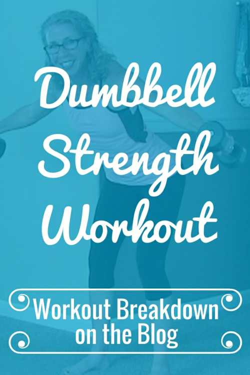 Sweaty STRENGTH Body Shaping DUMBBELL Workout for Women from Pahla B Fitness Workout Breakdown