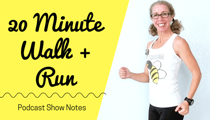 20 Minute Indoor RUNNING + WALKING Workout How to Make Your Fitness WISHES Come True - Blog Featured Photo
