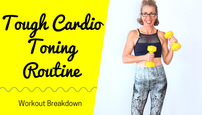 25 Minute CARDIO TONING High Low Workout _ Tough + Effective Full Body SHAPING Routine - BLOG Featured Photo