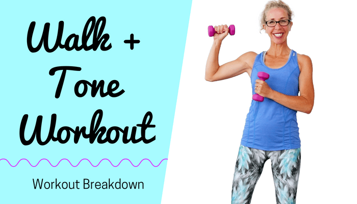 WALK + TONE MetCon 10 Minute Total Body STACKABLE Fat Loss Workout - BLOG Featured Photo