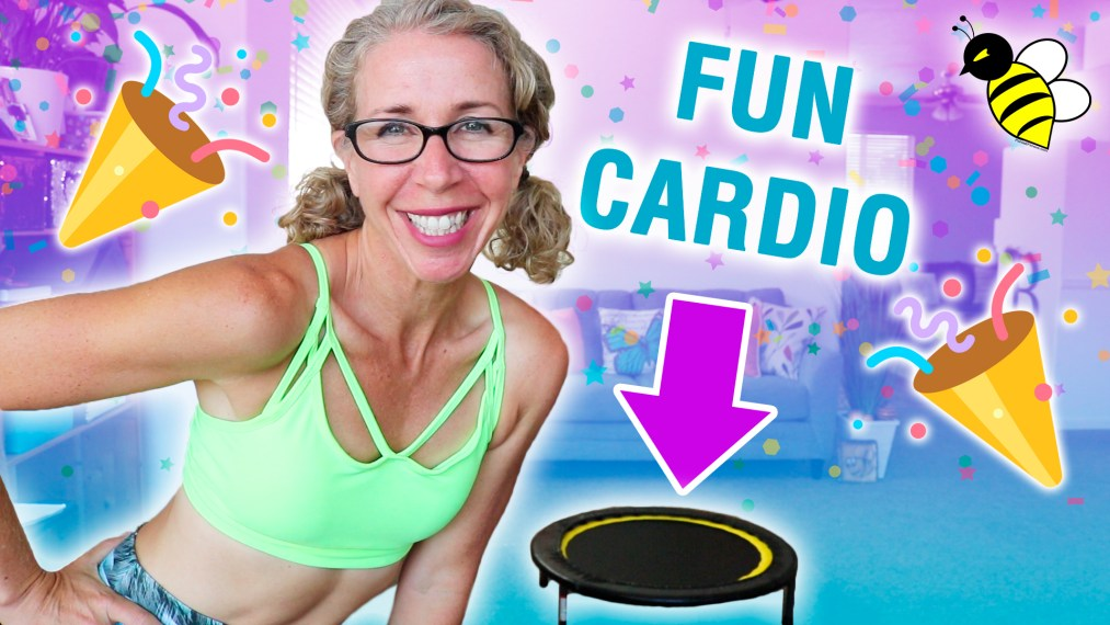FUN 25 Minute Mini Trampoline CARDIO Party