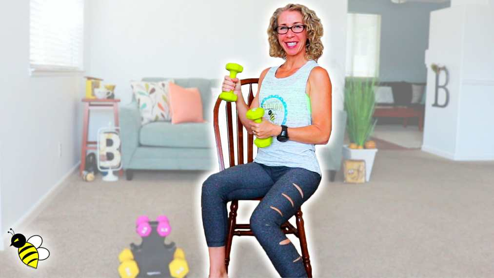 SEATED Ab Strength 30 Minute Weight Lifting Workout