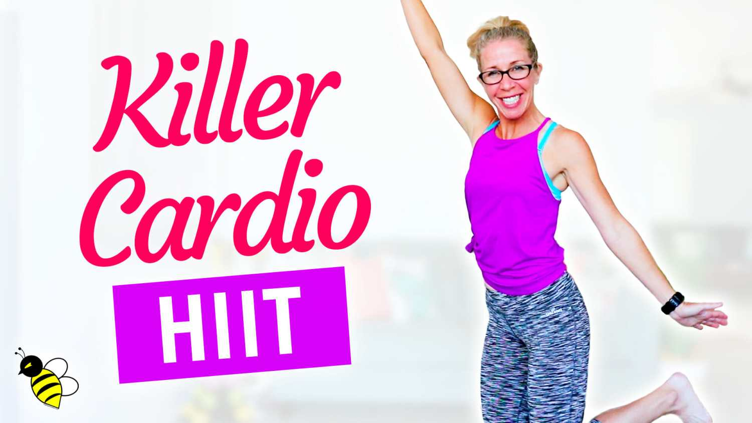 PUSH Yourself Killer Cardio HIIT Home Workout