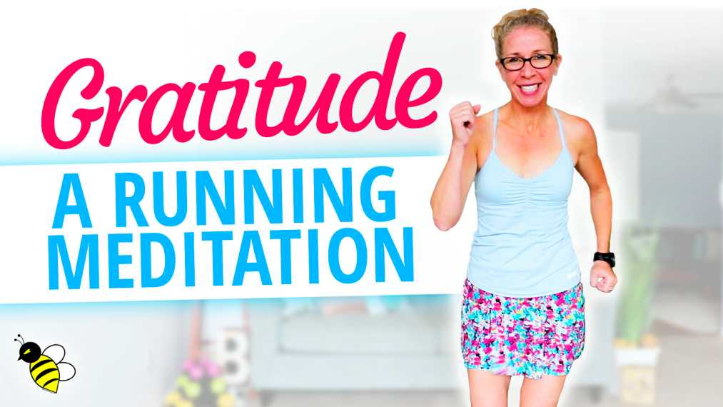 Steady state cardio 20 minute running gratitude meditation