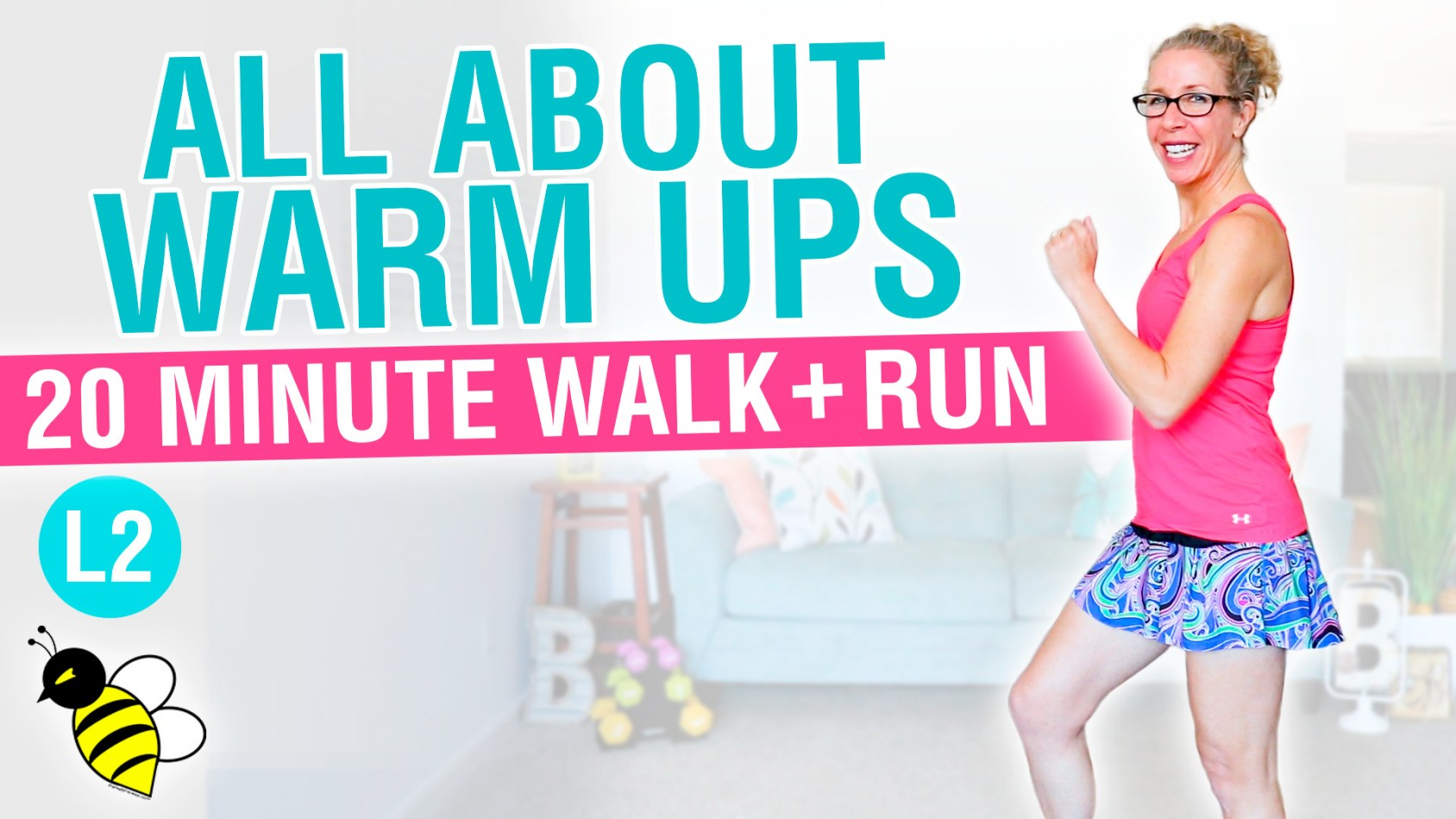 All about WARM UPS 20 minute WALK + RUN workout