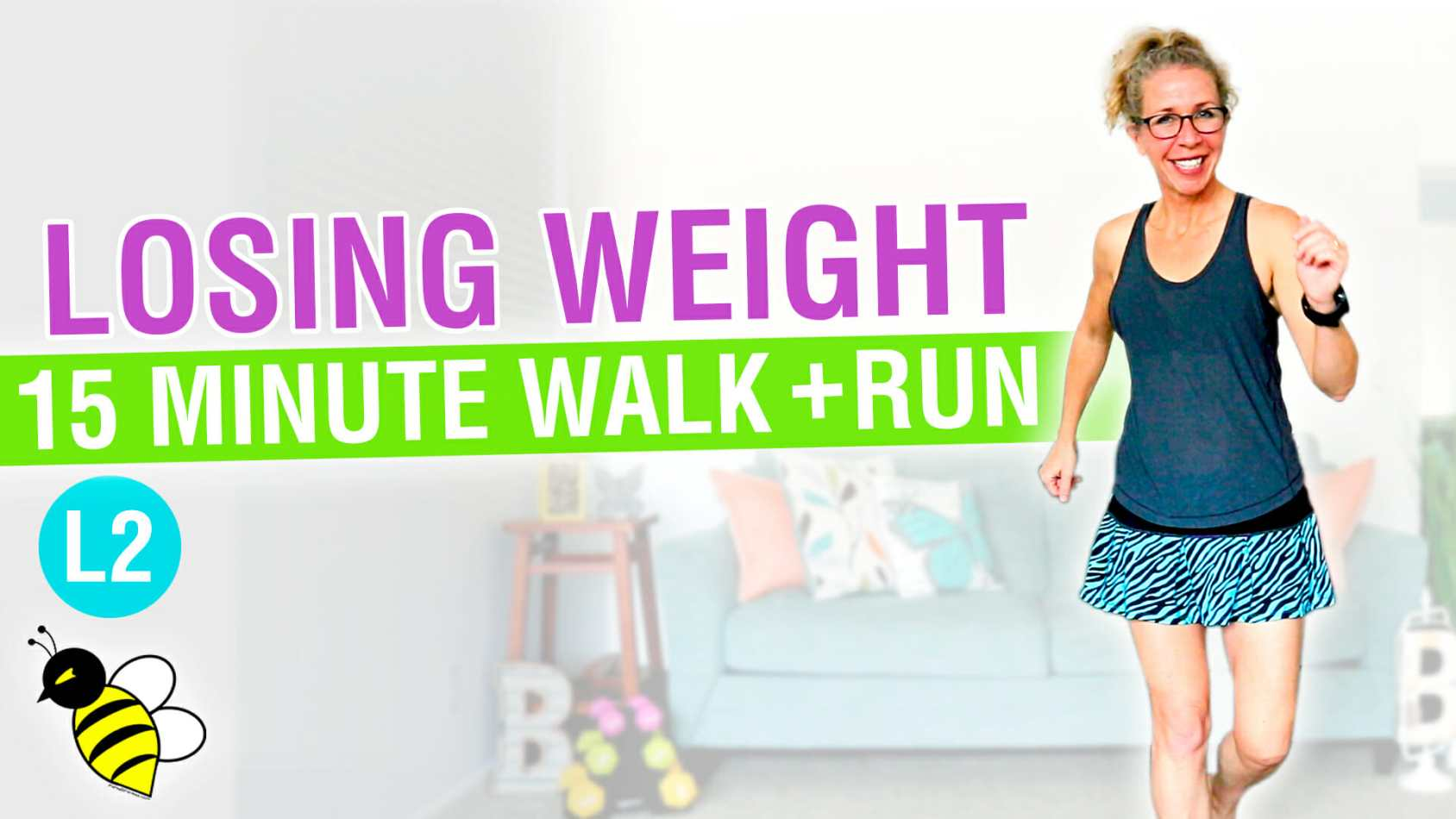 How LOSING WEIGHT Changes You 15 minute WALK + RUN