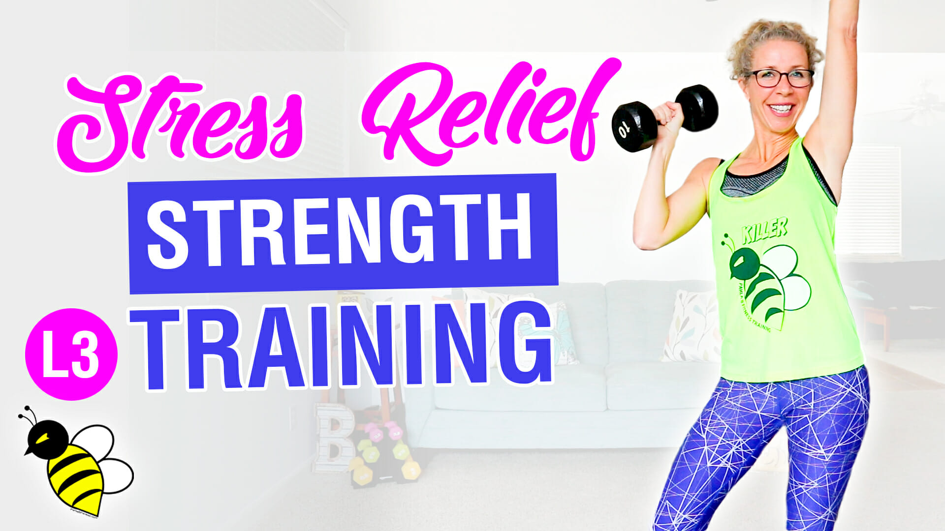 Stress Relief STRENGTH TRAINING 10 minute stackable workout