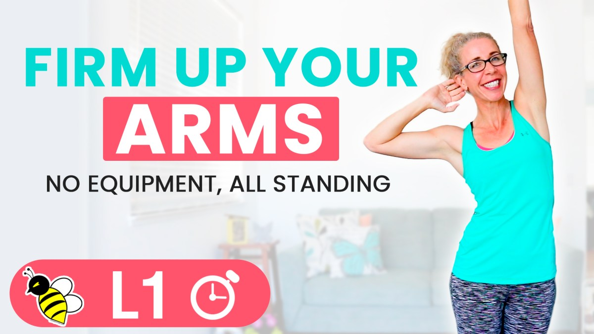 Arm FIRMING without Equipment | 5 Minute Friday FIX
