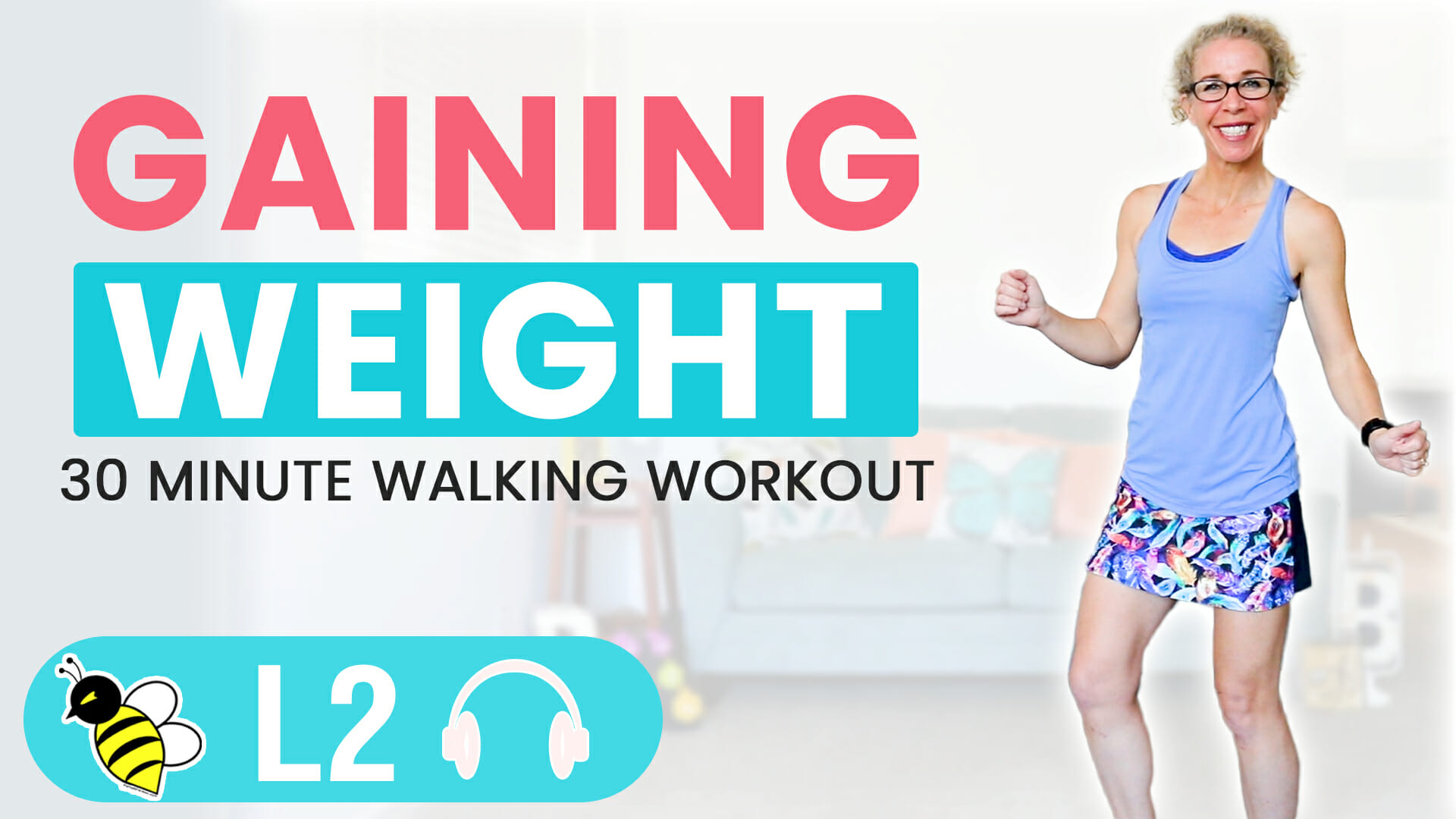 How I'm Dealing with GAINING WEIGHT 30 Minute WALKING Workout