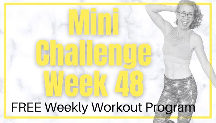 2020 Mini Challenge Week 48