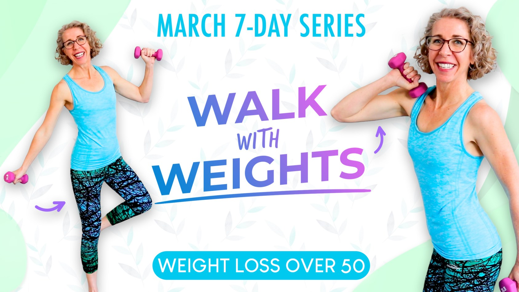 Let's WALK! Light Dumbbell Toning WEIGHT LOSS Workout ???? Pahla B Fitness