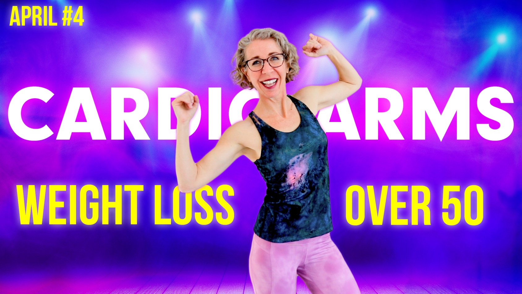 CARDIO that TONES YOUR ARMS! ???? No Equipment! ???? April Day 4