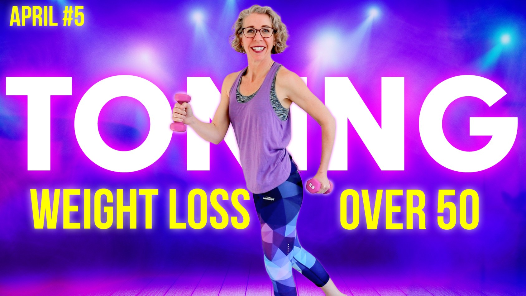 Fun, SHOULDER-FRIENDLY Cardio Toning Weight Loss Workout ???? April Day 5