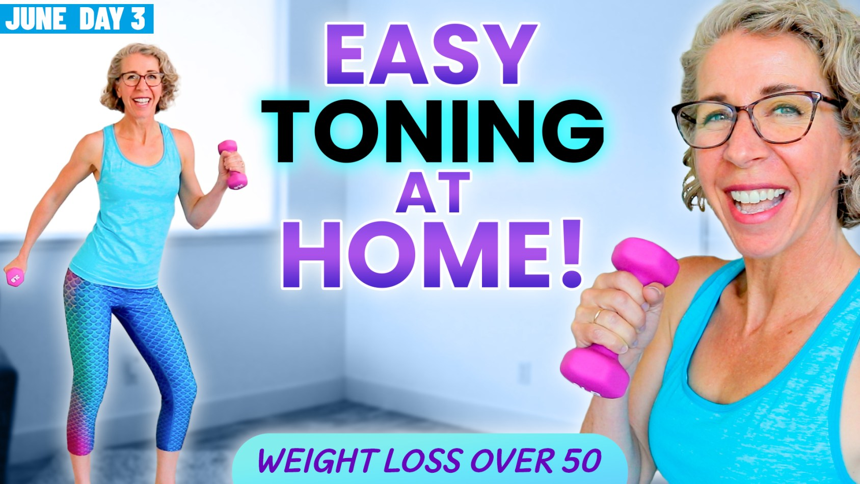 FAST, Feel-Good WALK with WEIGHTS???? for Women over 50