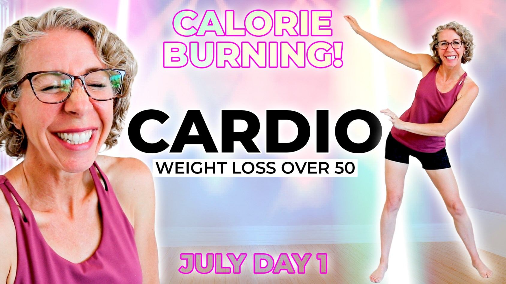 Fun WALKING Cardio Party???? Over 3000 Steps!