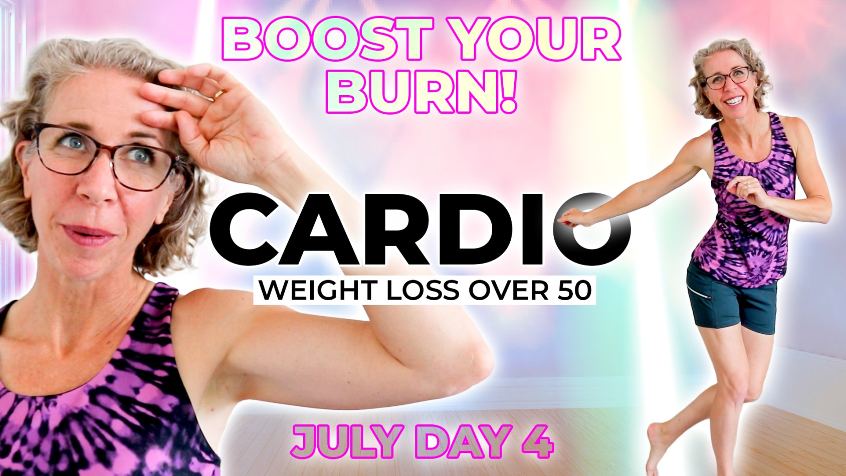 CARDIO Weight Loss Workout for Women in Menopause
