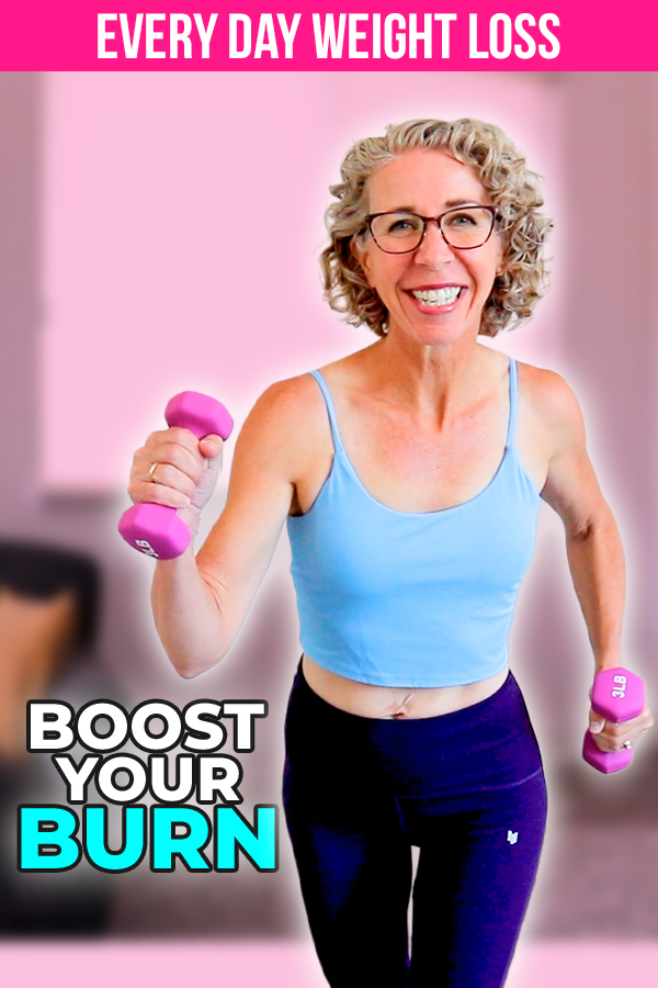 It's AUGUST👓, and today we're WALKING🚶♀️ with WEIGHTS🔩 while movin' and groovin' and provin' that fitness can absolutely be FUN🦩!
