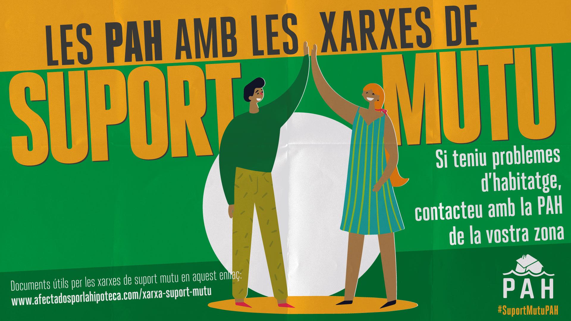 Les PAHs catalanes amb les Xarxes de Suport Mutu