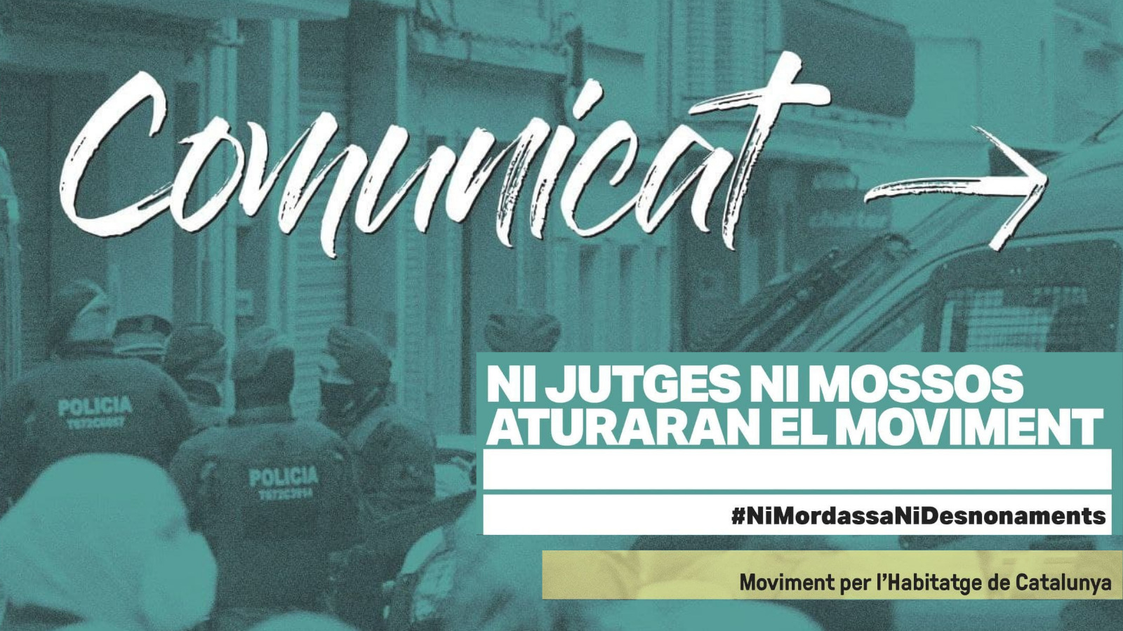 En este momento estás viendo Ni jutjes ni mossos aturaran el moviment