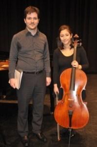 3rd Place – Stephanie Stamopolous With Rhodri Clarke (accompanist)