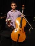 David Freisburg (Cello-Brisbane) 2nd place Open Instrumental Final