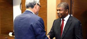 Jorge Carlos Fonseca e João Lourenço discutiram agenda bilateral em encontro na ilha do Sal