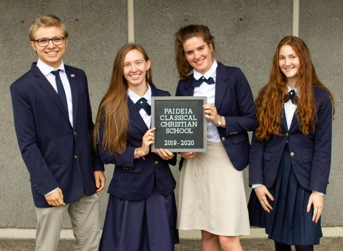 classical christian school students dress code