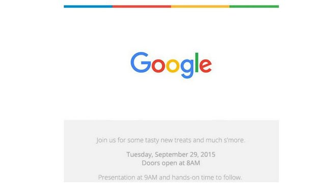 New Nexus Devices To Launch At Google's Event On September 29