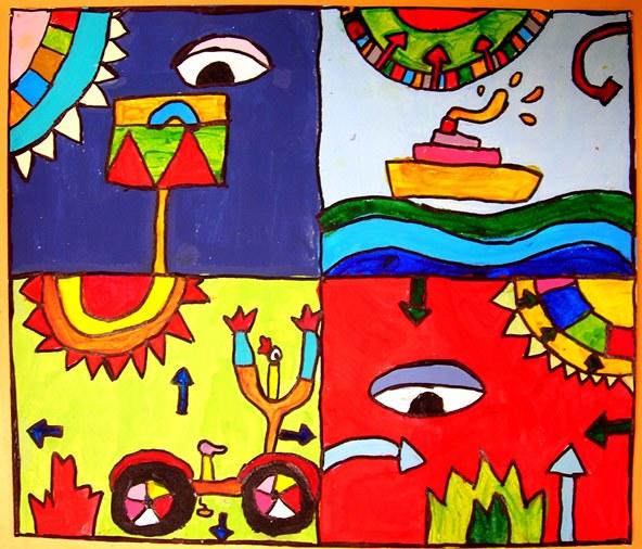 καλλιτεχνικό εργαστήρι, εικαστική δημιουργία, εργαστήρι παιδικής τέχνης