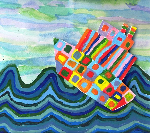 Εργαστήρι παιδικής τέχνης, Λάρισα, ζωγραφική