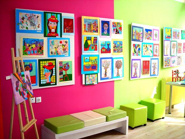 Εκθεση ζωγραφικής, παιδική ζωγραφική, εγγραφές