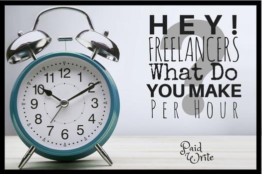 What Do You Make Per Hour