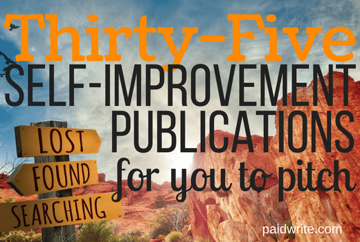 35 self-improvement publications