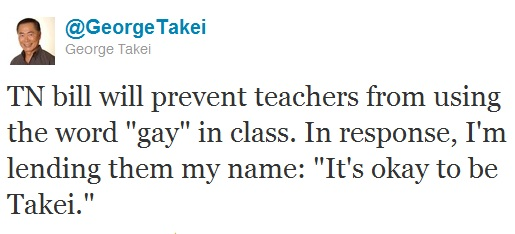 Words of Wisdom from George Takei