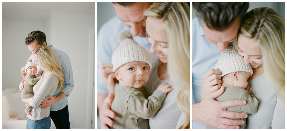 At Home Lifestyle Newborn Session Photography Denver Photographer