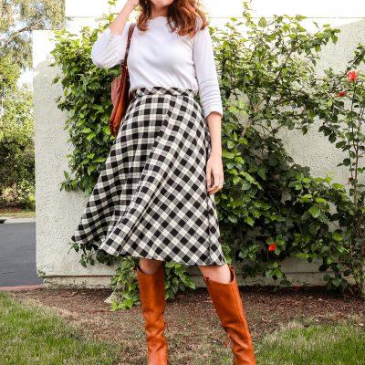 half circle skirt sewing tutorial
