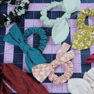 DIY Scrunchie: FAQ & Free Bow Pattern