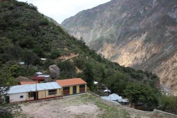 The school field in San Juan