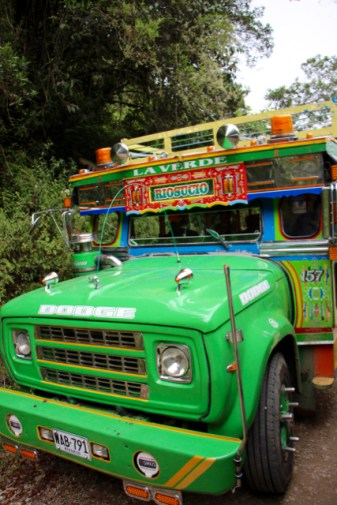 The local Rio Sucio bus