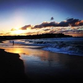 Sunrise at Bondi on the last day