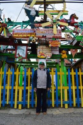 Dmytro Szylak, age 90, built all of Hamtramck Disneyland himself after retiring as an autoworker for General Motors.