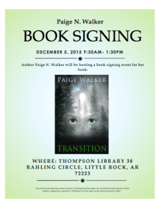 Transition Book Signing
