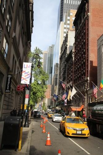 Uliczka na dolnym Manhattanie, Nowy Jork