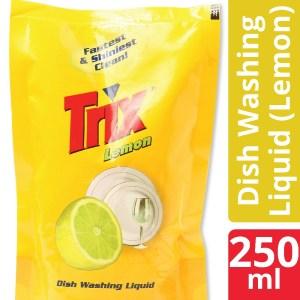 Trix Dishwashing Liquid 250 ml Lemon