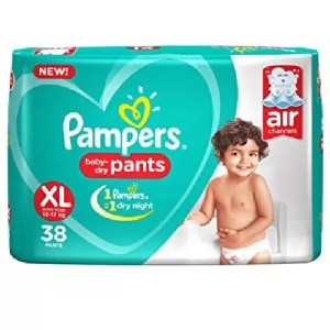 Pampers Baby Dry Pants (XL, 12-17kg, 38pcs)