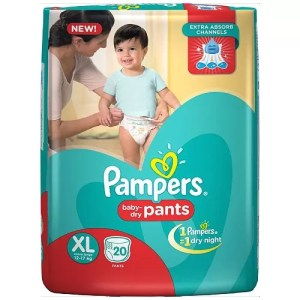 Pampers Baby Dry Pants (XL, 12-17kg, 20pcs)